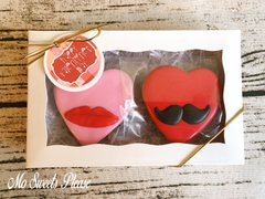 Decorated Sugar Cookie Valentine