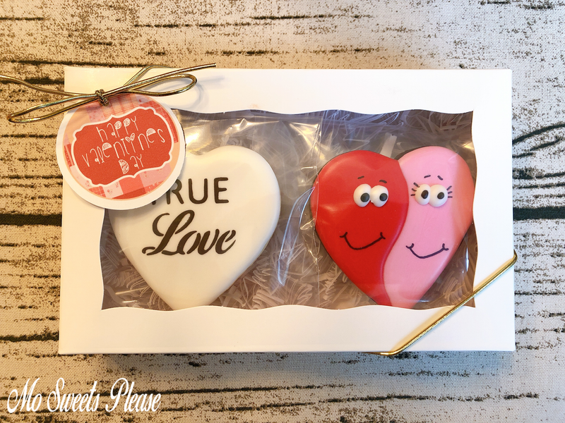 Decorated Sugar Cookie Valentine True Love Googly Eyes