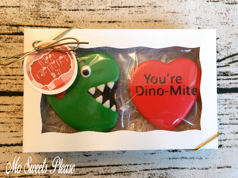 Decorated Sugar Cookie Dino Dinosaur Dino-Mite