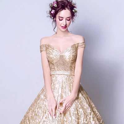 Golden Sparkle Gown