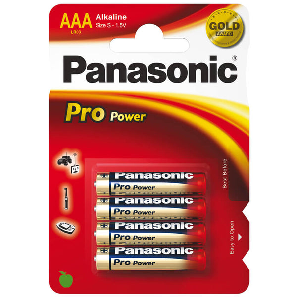 Batterie Alkaline PRO POWER