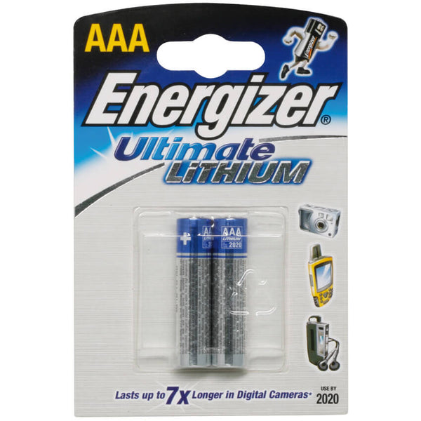 Batterie Lithium ULTIMATE 1,5 Volt 2er Pack im Blister