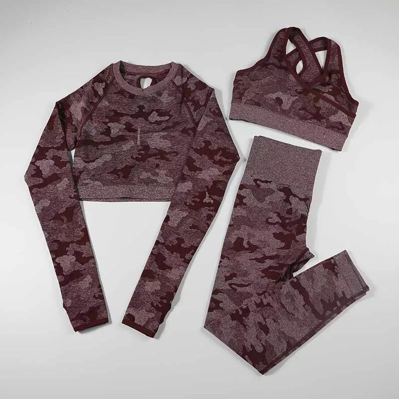Camo Seamless Set  ( 3pcs) - Rydess.com