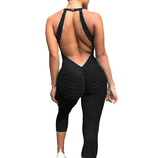 BACKLESS JUMPSUIT - Rydess.com