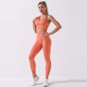 SHOCK RIBBED  SEAMLESS SETS