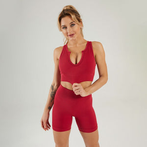 XFLEX RIBBED SHORT SET