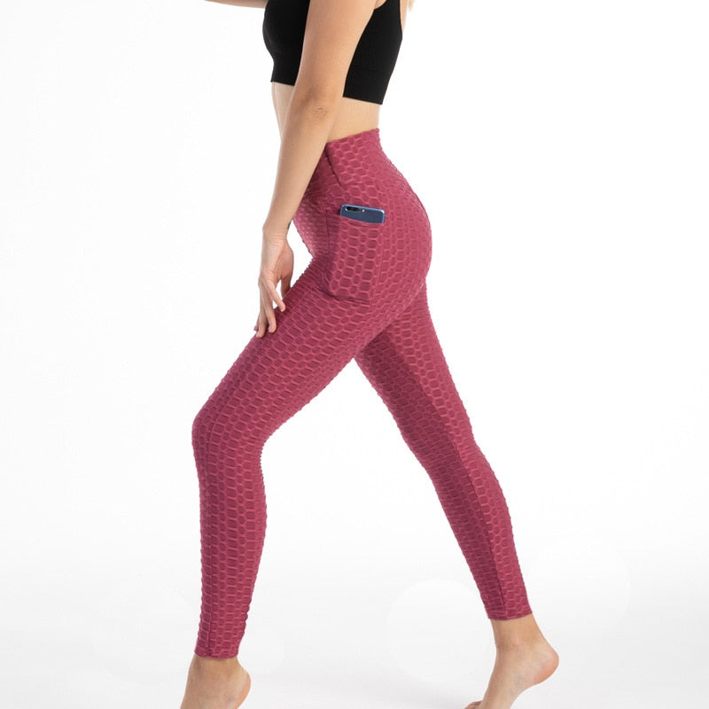 ANTI CELLUTE LEGGING WITH POCKET