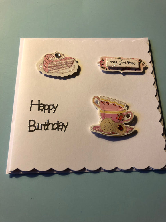 Women's birthday card