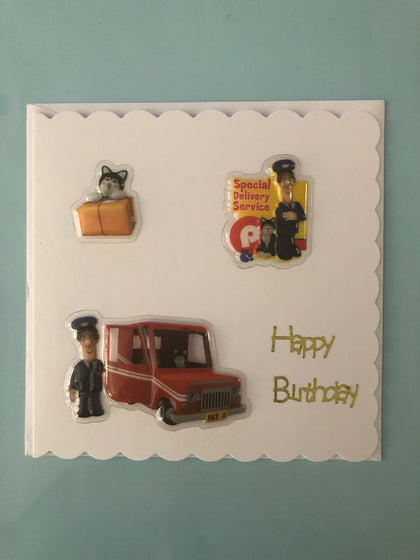 Postman Pat Card for birthday