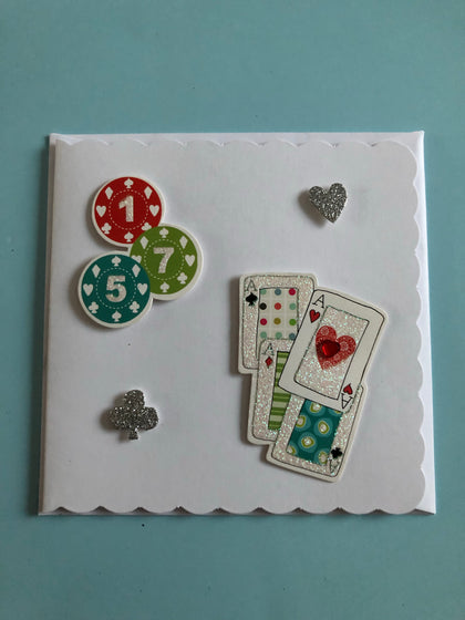 Men's game birthday card