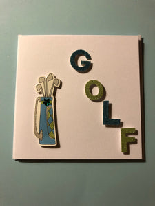 Golf occasion card