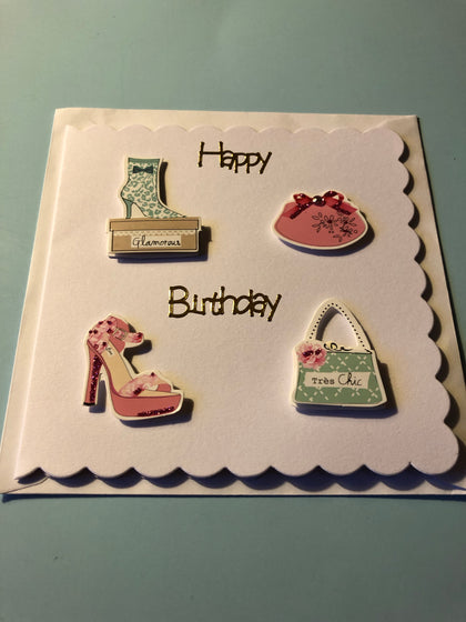 Women's birthday with bags and shoes
