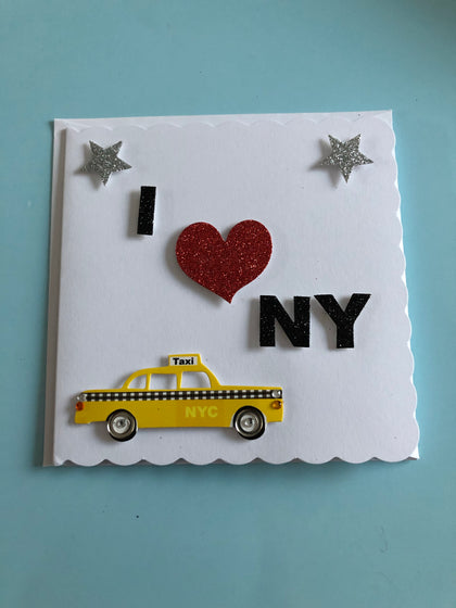I love New York birthday card