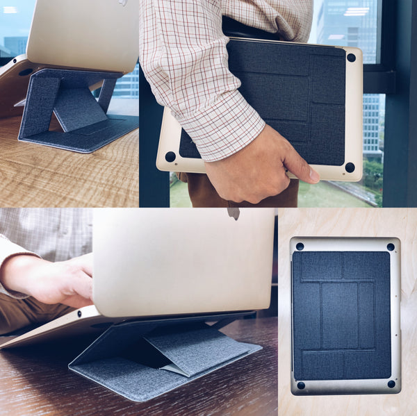 portable invisible laptop stand