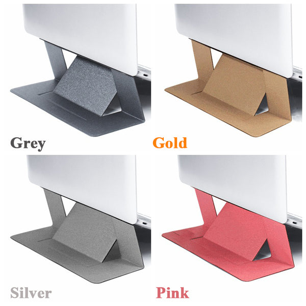 four colors macbook invisible stand