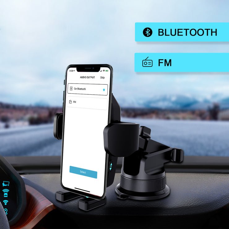 ROBOQI 2 with Alexa Built-in AI Qi Wireless Charging Car Mount