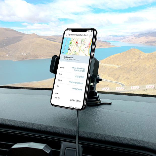 ROBOQI Auto 10W Qi Wireless Car Mount