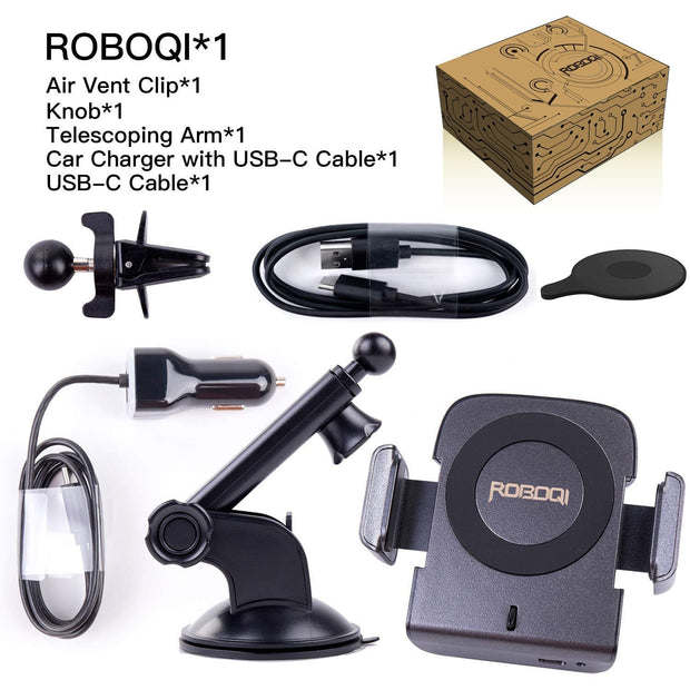 ROBOQI® 1 - Automatic 10W Qi Wireless Car Mount