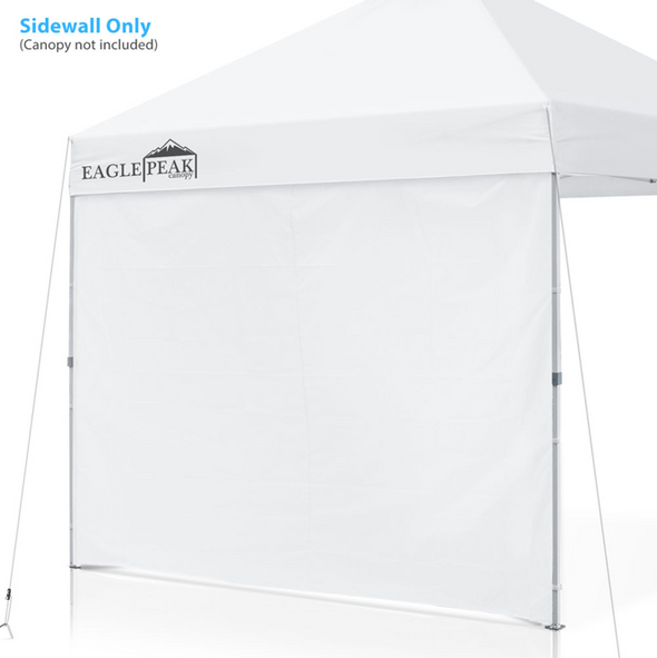 EAGLE PEAK Canopy SunWall for 10'x10', 10'x20' Commercial Pop Up Canopy, 1 Sidewall