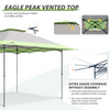 EAGLE PEAK 13'x13' One Person Setup Canopy Tent w/ Automatic Extending Eaves
