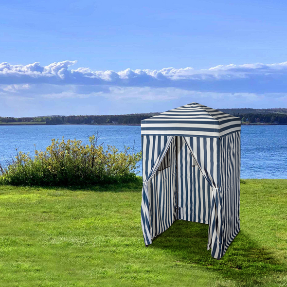 EAGLE PEAK Flex Ultra Compact 4'x4' Pop-up Changing Room Canopy, Portable Privacy Cabana
