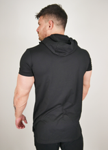 Load image into Gallery viewer, The Hooded T - Black