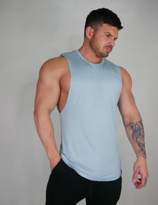 The 'Smooth' Sleeveless - Powder Blue