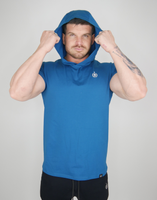 The Hooded T - Peacock Blue LIMITED EDITION