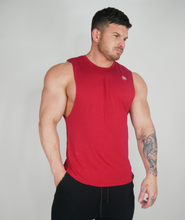 Load image into Gallery viewer, The 'Smooth' Sleeveless - Red Hot