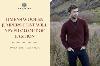 11 Mens Woolen Jumpers That Will Never Go Out of Fashion