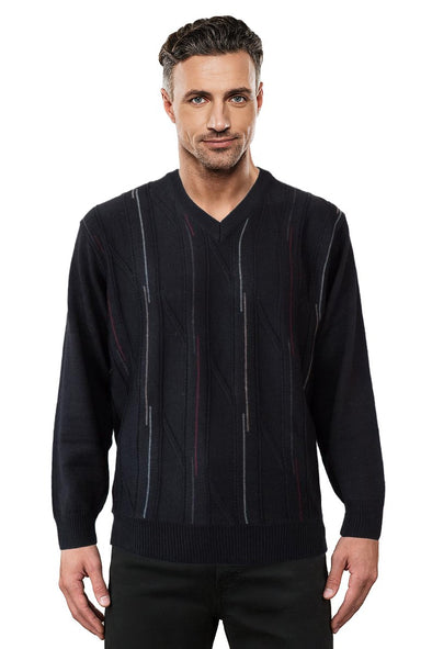 9053 Black - Tradewinds By Ansett Ansett Plain Knitwear