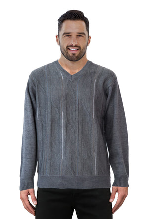9053 Grey - Tradewinds By Ansett Ansett Plain Knitwear