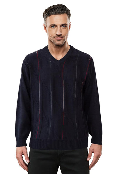 9053 Navy - Tradewinds By Ansett Ansett Plain Knitwear