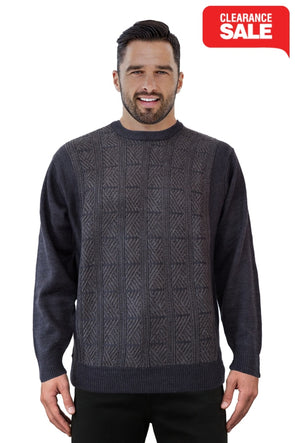 9072 Granite - Tradewinds By Ansett Ansett Plain Knitwear