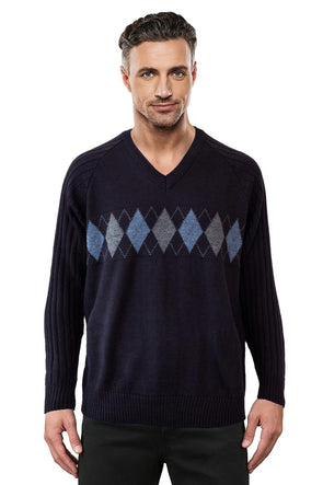 9333 Navy - Tradewinds By Ansett Ansett Plain Knitwear