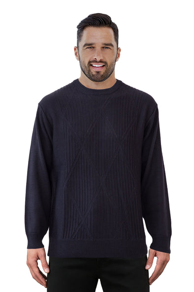 9422 Navy - Tradewinds By Ansett Ansett Plain Knitwear