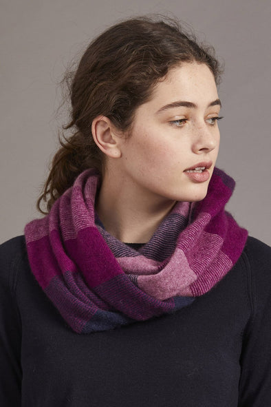 Berry McDonald Possum Merino Silk Ombre Snood