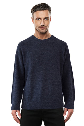 Charcoal Fisherman Rib - Tradewinds By Ansett Ansett Plain Knitwear