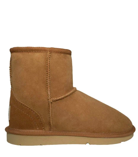 Ladies Chestnut Classic Ultra Short Ugg Ugg Boots