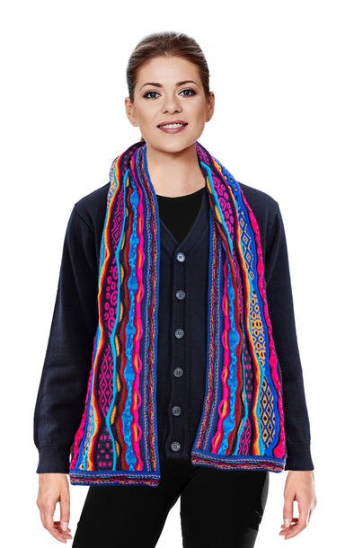Force - Bright Scarf Geccu 3D Multi Colour