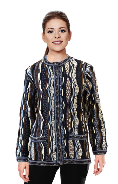 Force - Earth Ladies Long Cardigan