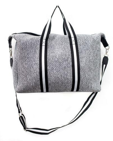 Grey Duffle Bag