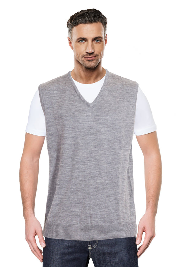 Grey Machine Washable Vest