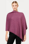Heather Plain Possum Poncho