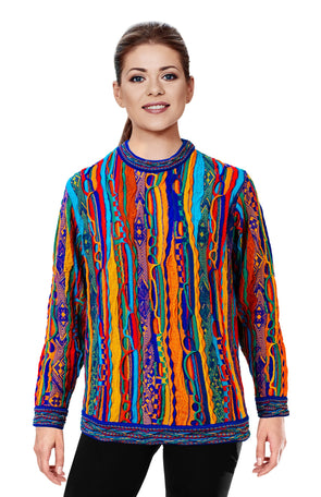 Kanga - Bright Sweater Geccu 3D Multi Colour