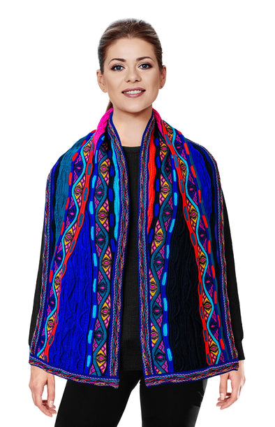 Mati - Bright Scarf Geccu 3D Multi Colour