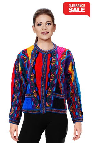 Mati - Bright Crop Cardigan