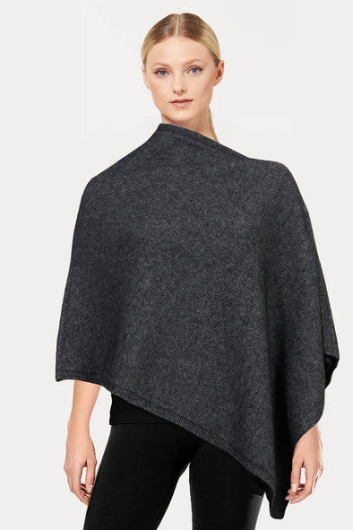 Pewter Plain Possum Poncho Possum Merino