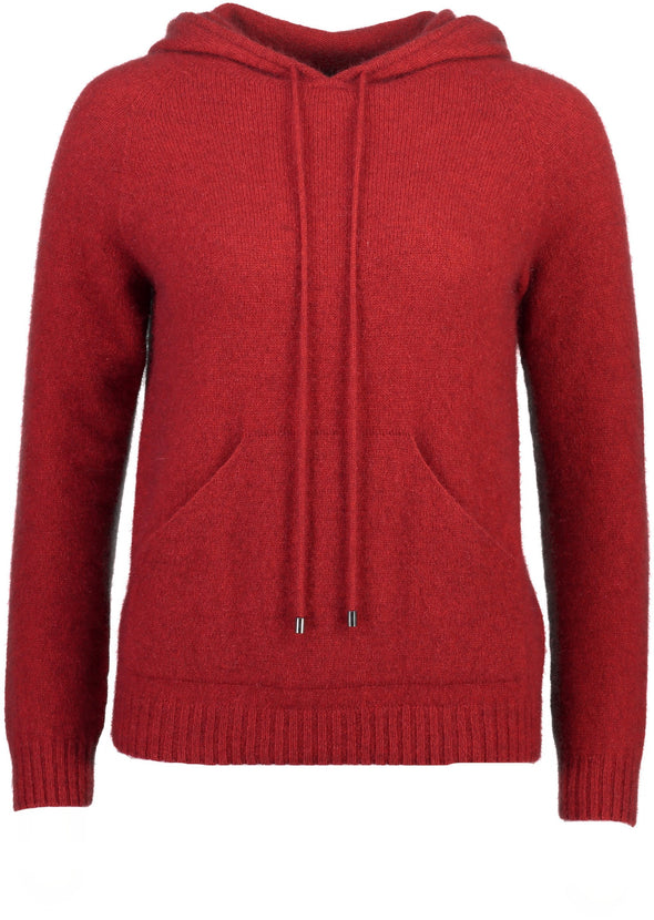 Red Possum Merino Womens Casual Hoodie