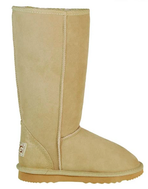 Mens Sand Classic Tall Ugg Boots